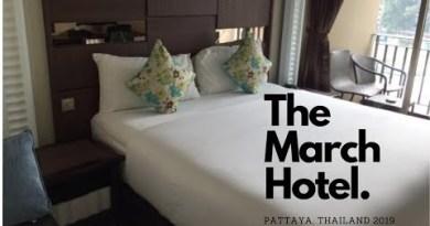 March Resort Pattaya, Thailand 2019 Resort room overview.