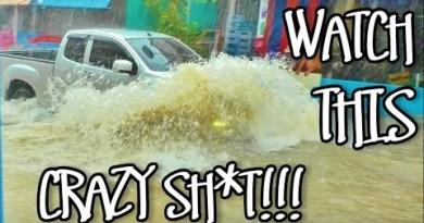 PATTAYA BEACH WILD WEATHER HEAVY RAIN AND FLOODING 3RD APRIL 2019 – SONGKRAN WET SEASON HAS STARTED