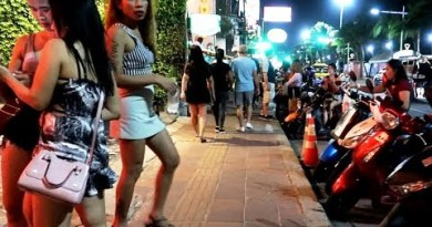 Sea breeze Avenue on the Evening Time – Pattaya Freelancers