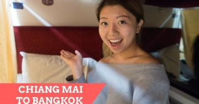 Chiang Mai to Bangkok In a single day Put collectively, 2nd Class Sleeper