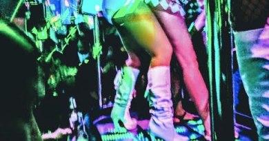 inner  strip joint lk metro pattaya Thailand walking avenue stripper agogo gogo spanks for spanking