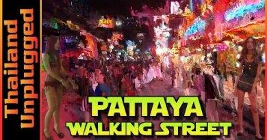 Pattaya Strolling Toll road Thailand 2016, Vlog 054