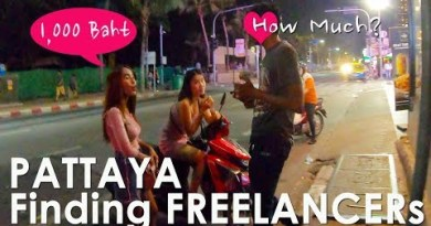How Critical Freelancers at the Pattaya Strolling Boulevard & Pattaya Seaside Boulevard Evening Scenes Re-up35