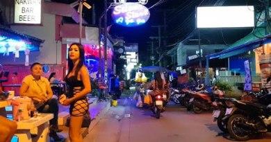 pattaya soi 7 nightlife and resplendent women folk