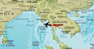 THAILAND – Appealing Crawl MAP