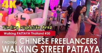 Finding Chinese Freelancers Strolling Twin carriageway Pattaya at Night – Strolling Pattaya #30