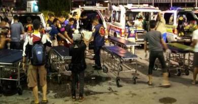 Thailand 15 shot ineffective by insurgents in Thailand