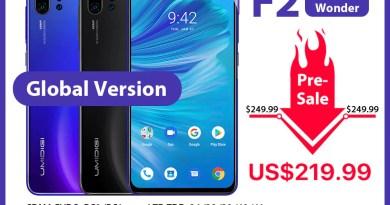 Pre-sale UMIDIGI F2 Android 10 Global Version 6.53″FHD+6GB 128GB 48MP AI Quad Camera 32MP Selfie Helio P70 Cellphone 5150mAh NFC