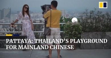 Chinese language tourism in Thailand's resort city of Pattaya
