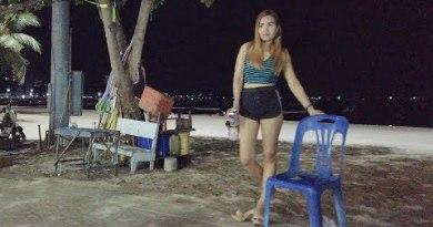 Pattaya Seaside Street Stroll on Sunday Night