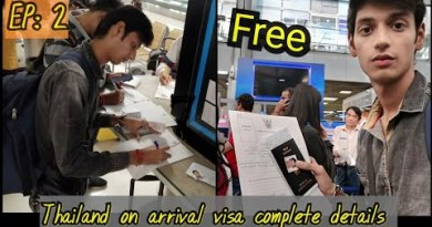 Thailand Visa On Arrival for Indians || Bangkok Airport to Pattaya by Bus.