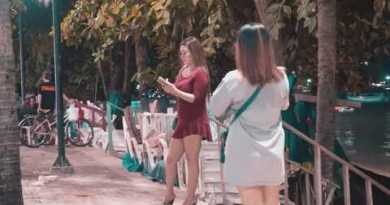 4K Extremely HD. Seaside Road Pattaya — How powerful Freelancers? – with subtitles