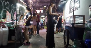 After Lifeless night of Pattaya Strolling Avenue forward of Christmas
