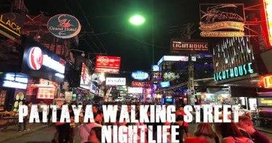 Pattaya Strolling Avenue Nightlife – Beer Bars, Streak-Streak Bars and Golf equipment