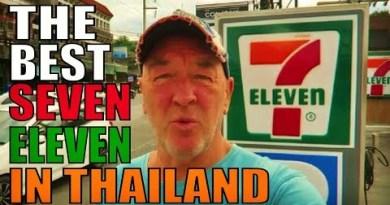 AMAZING PATTAYA THAILAND 7-11 SHOP. NO MORE BEEP BEEPS !