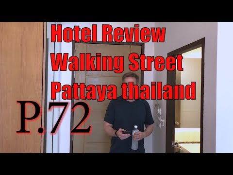 Hotel Review P.72 Unusual Hotel Positioned on Walking Avenue in Pattaya, Thailand