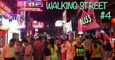 Pattaya Nightlife   Pattaya Strolling Freeway after Midnight   Thailand Vlog