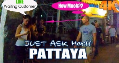 Pattaya Walking Avenue and Seaside Avenue Ladies Ready To your Outing – Night time Scenes films 8