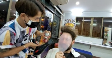 💈HAIR STYLED in Hostess Boy Salon in PATTAYA THAILAND | by Chorn at Style Hair 🇹🇭 4K