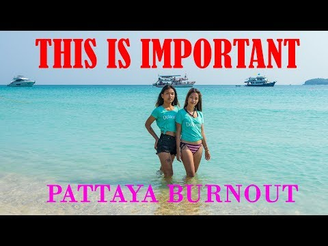 Why Men Journey Burnout in Pattaya, Thailand