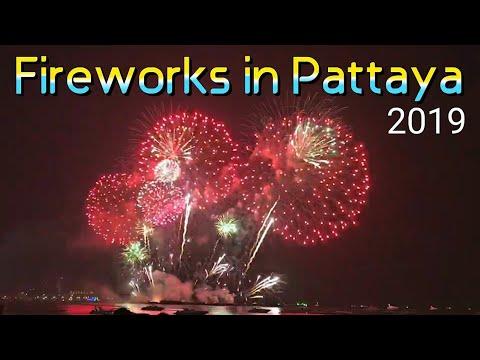Pattaya Global Fireworks Festival @ Pattaya Shoreline November 2019