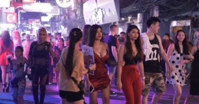 Thailand Shoreline Nightlife-Pattaya Strolling avenue Ep 3