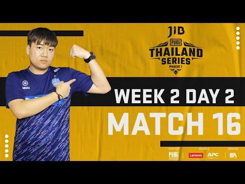 [PTS] JIB PUBG THAILAND SERIES PHASE 1 GAME 16