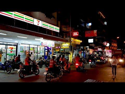 Night scenes of Soi Buakhao, Pattaya, Thailand [4K] [2020]
