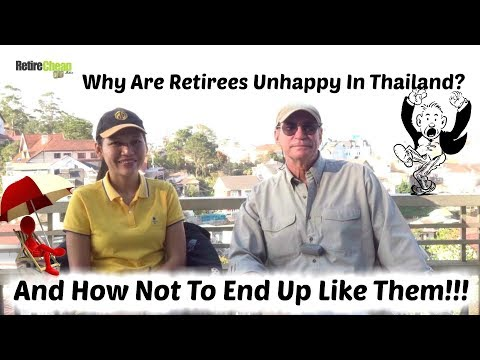 😠 Why Retirees In Thailand Will no longer be Gay