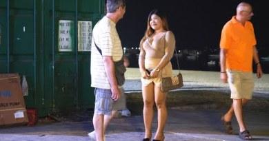 Saturday Night In Pattaya Seaside Avenue – January 2020