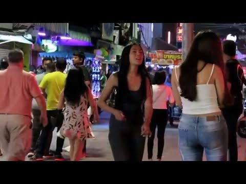Freelancers in Strolling Street Pattaya
