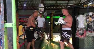 Rambaa SomdetM-16 Training Pattaya Thailand SERGEY LEONOV