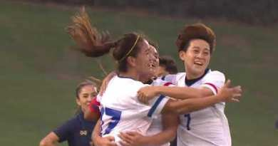 AFC Females's Olympic Qualifying Match: Thailand 0 – 1 Chinese Taipei (Highlights)