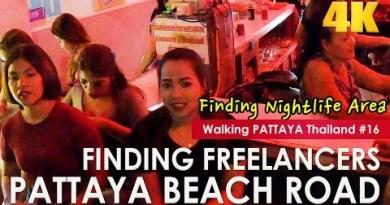 Pattaya Sea hump Road To Soi Buakhao Freelancers Night Scenes – Searching at Pattaya #16