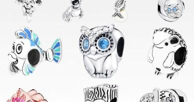 2019 autumn New 925 Sterling Silver Bead Sparkling Pavé Leaf Owl Charms Pendant fit Original Pandora Bracelets Women DIY Jewelry