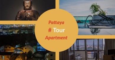 Pattaya, Thailand Home Tour 7500 Baht rental