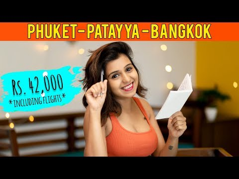 How one can notion Phuket Pattaya Bangkok Day out in Rs. 42,000 including Flights, Visa, Resort & Food
