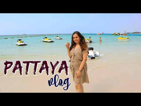 PATTAYA, Thailand Vlog | Pattaya Seaside, Strolling Facet road, Koh Larn, Night Market