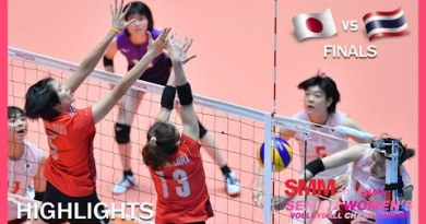 Japan vs Thailand | Highlights | Finals | AVC Asian Senior Women's Volleyball Championship 2019