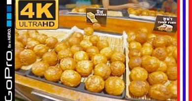 Side freeway Meals   Pattaya, Thailand   Thepprasit Weekend Night Market   GoPro Hero 8   4K