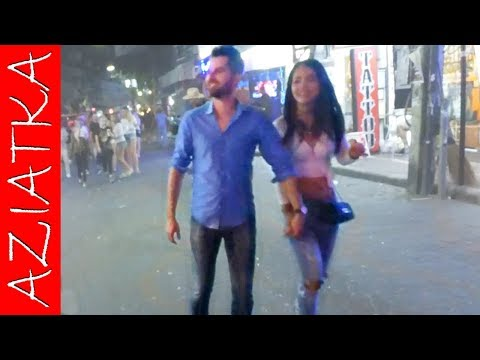 PATTAYA WALKING STREET | Night Scenes | Vlog 6: Insomnia night membership