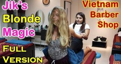 Vietnam Barber Shop Jik's Blonde Magic – Seoul Rubdown (Bangkok, Thailand) FULL VERSION