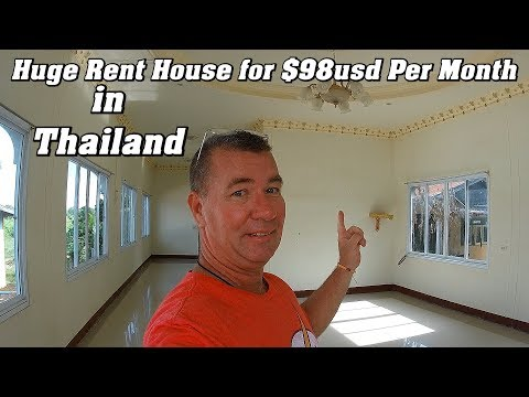 $98usd Huge Rent House in Thailand per month