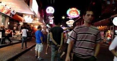 Pattaya Nightlife In Walking Motorway (Walkthrough) Paunchy-HD