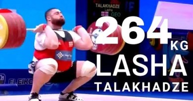2019 Pattaya IWF 109kg+ Males's top 3 gleaming and jerk war – Talakhadze Lasha