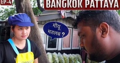 BANGKOK PATTAYA TOUR   PUBLIC TRANSPORT   CHEAPEST HOSTEL   4K