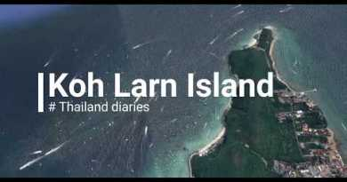 Koh Larn Island (Coral Island) from Pattaya| Blue waters, White Sand Seashores!