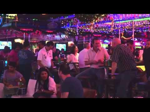 Pattaya 2014 Seaside Road, Nightlife, Walking Road, Soi Buakhao