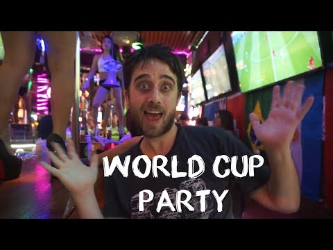 England World Cup Phuket Celebration – Leaving Singapore To Thailand
