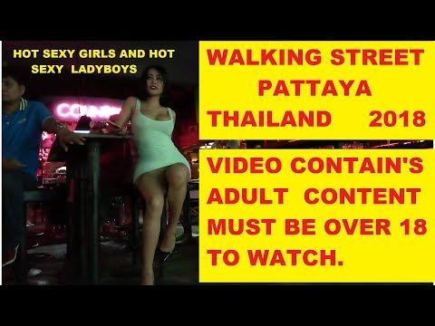 WALKING STREET WEDNESDAY 14th FEBRUARY 2018 WALKING ST PATTAYA THAILAND